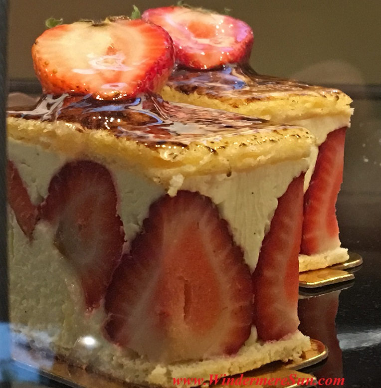 Strawberry Tart of My French Cafe (credit: Windermere Sun-Susan Sun Nunamaker)