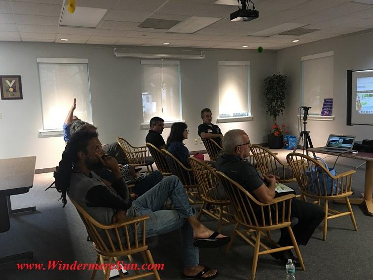 Windermere Sun's First Meetup (credit: Windermere Sun-Susan Sun Nunamaker)