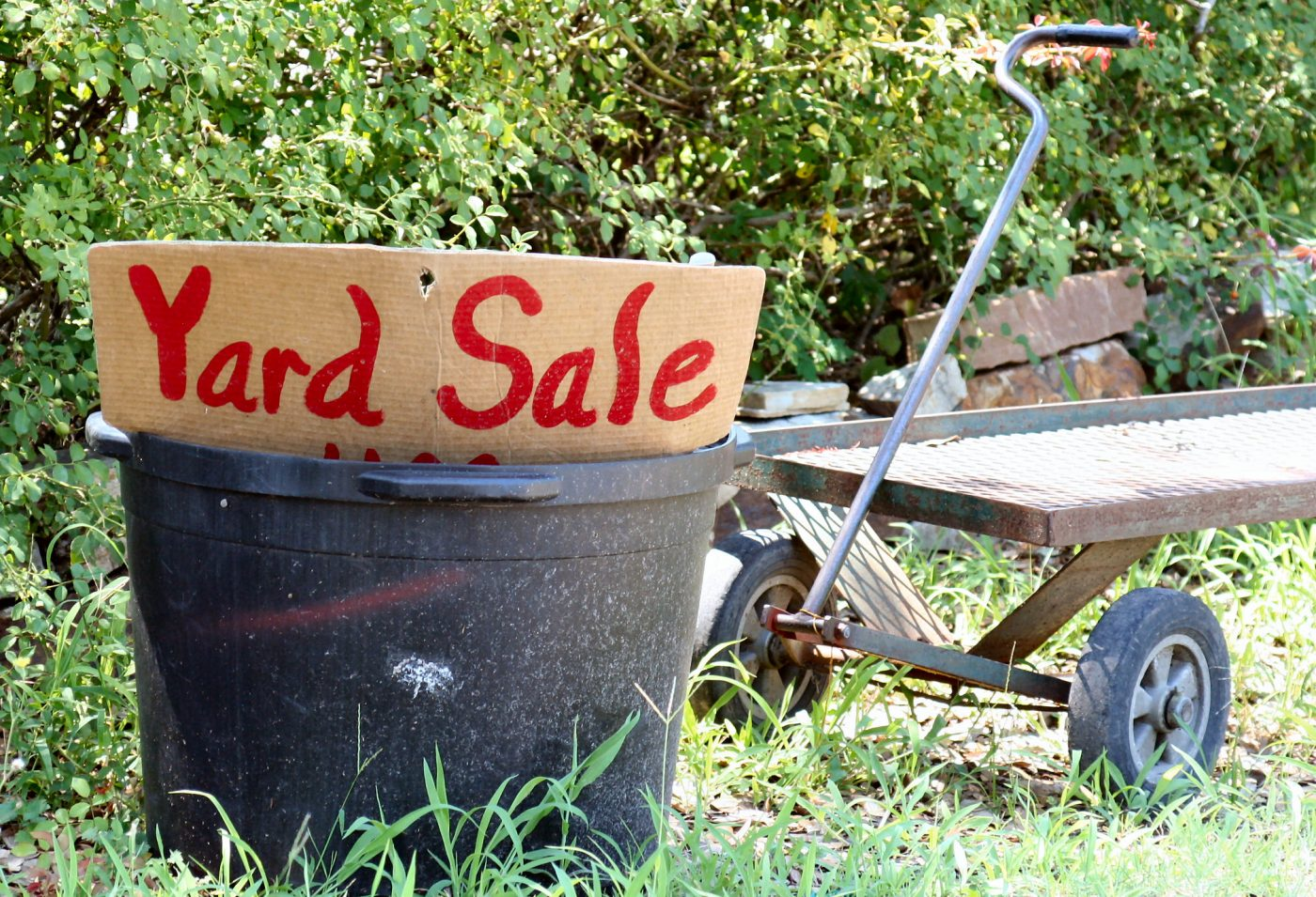 Yard Sale (by Cheryl Empey)