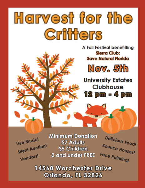 Harvest For The Critters (for Sierra Club) (credti: Harvest For the Critters)