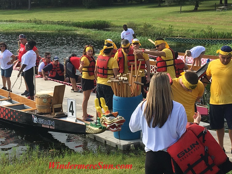 Asian Cultural Expo/International Dragon Boat Race at Turkey Lake of Bill Frederick Park of Orlando on Oct. 15, 2016 (credit: Windermere Sun-Susan Sun Nunamaker)