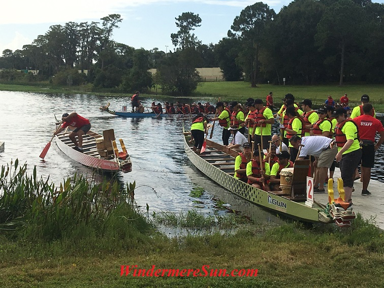 Boat Race at Turkey Lake of Bill Frederick Park of Orlando on Oct. 15, 2016 (credit: Windermere Sun-Susan Sun Nunamaker)