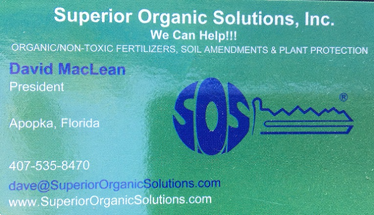 Superior Organic Solutions' contact information