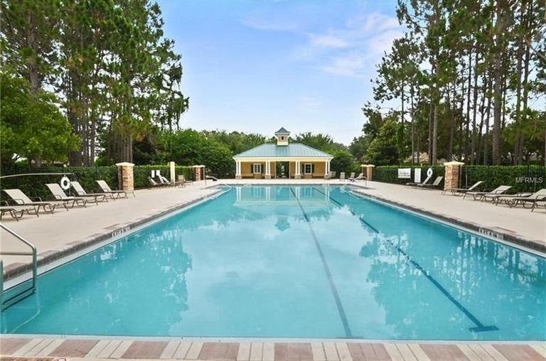 Freeman House Community Swimming Pool