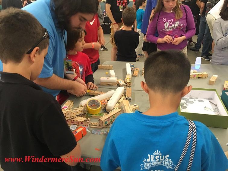 Makers of Maker Faire Orlando (credit: Windermere Sun-Susan Sun Nunamaker)