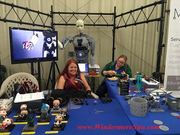 Making Robot Parts (credit: Windermere Sun-Susan Sun Nunamaker)