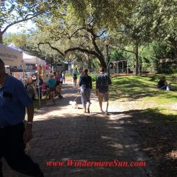 More walkers at walkpath (credit: Windermere Sun-Susan Sun Nunamaker)