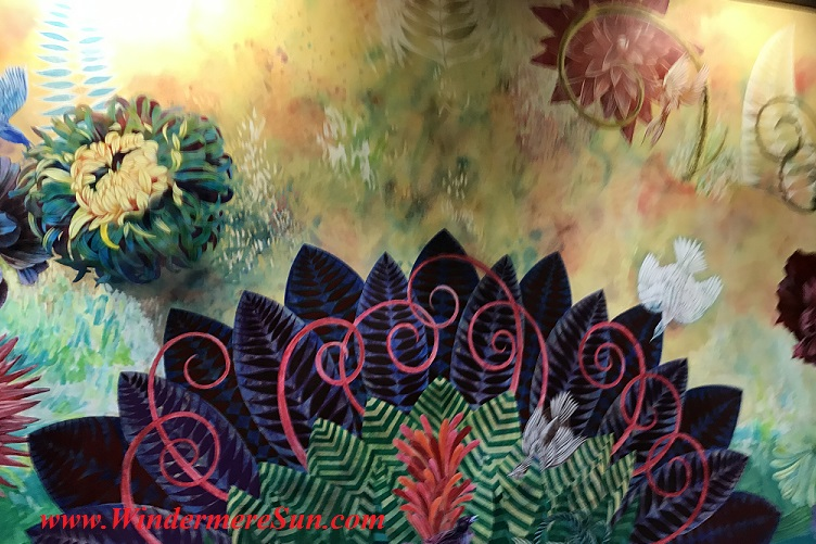 Wall Mural at Orlando International Airport 3 (credit: Windermere Sun-Susan Sun Nunamaker)