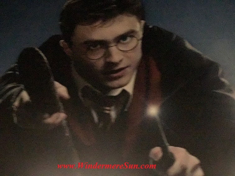 Harry Potter for Universal Studio at Orlando International Airport (credit: Windermere Sun-Susan Sun Nunamaker)