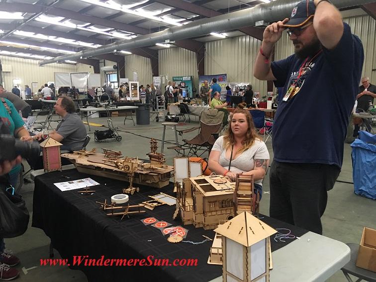 Project at Maker Faire Orlando (credit: Windermere Sun-Susan Sun Nunamaker)