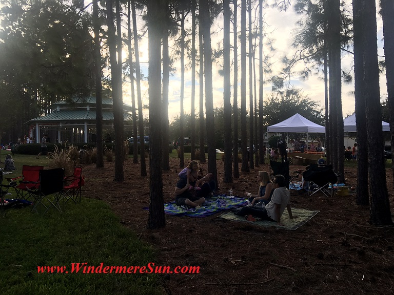 Relax Under The Trees (credit: Windermere Sun-Susan Sun Nunamaker)