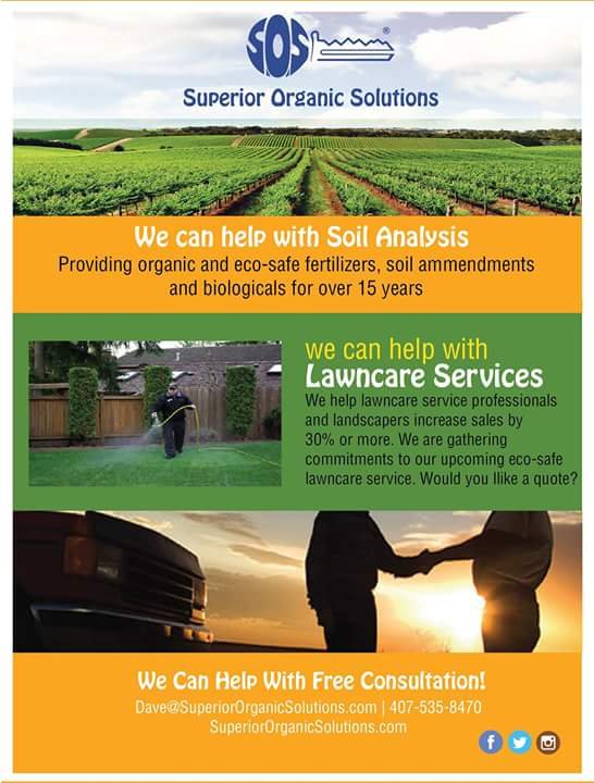Superior Organic Solutions' services