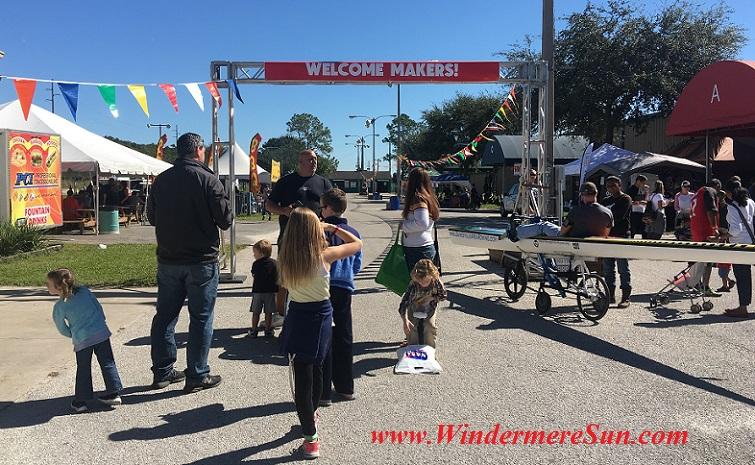 Welcome Makers (credit: Windermere Sun-Susan Sun Nunamaker)