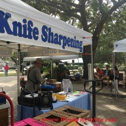 Knife Sharpening of WFM (credit:Windermere Sun-Susan Sun Nunamaker)