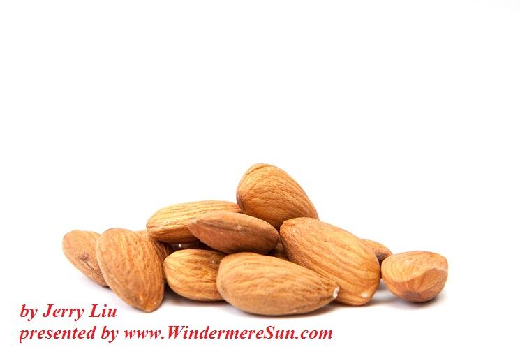 Almonds by jerry liu