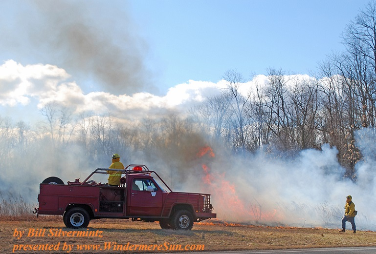 Fire Service Controlled Burn (by Bill Silvermintz)